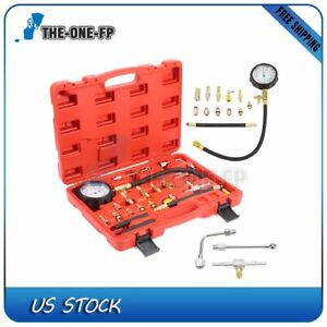 Universal Fuel Injection Pump Pressure Injector Tester Test Pressure Gauge Kit
