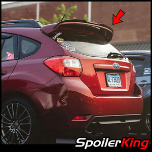 Rear Add on Gurney Factory Spoiler fits Subaru Impreza H b 2011 2016 244fse