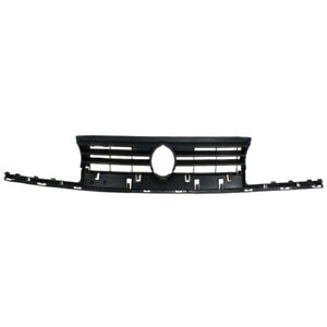 93 99 Vw Golf Cabrio Front Face Bar Grill Grille Assembly Black Shell Insert
