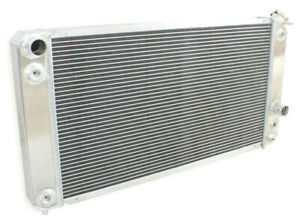 3 Rows For 1996 2005 04 Chevy S10 Ls Swap 26 3 W Core V6 4 3l Aluminum Radiator