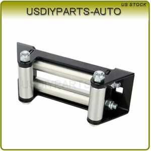 Winch Roller Fairlead Bolt Pattern 6 4000 5000 Lbs 1pcs Universal