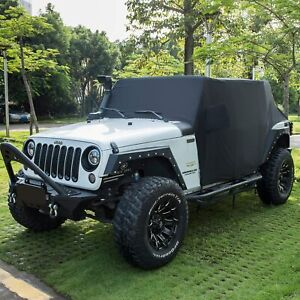2007 2020 Jeep Wrangler Unlimited 4 Door Top Off Cab Cover With Storage Bag