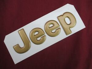 Nos Oem Jeep Grand Cherokee jeep Lift Gate Emblem 1994 98