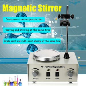 Hot Plate Magnetic 79 1 Stirrer Mixer Stirring Lab Dual Control Stirrer stir Bar