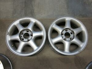 1994 1998 Volvo 850 15x6 5 Rims Wheels Oem 9140545 Set Of 4