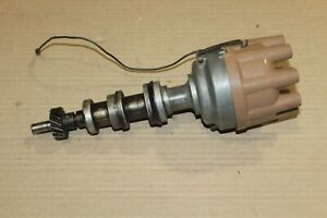1969 1970 Ford Fe Dual Point Distributor C5af 12127 e Dated 9j23