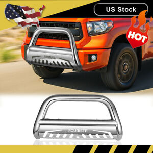 For Toyota 07 20 Tundra 08 20 Sequoia 3 Pickup S s Bull Bar Grille Push Guard