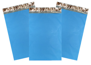 Blue Poly Mailers Choose Size Quantity Small Or Large Thick 2 35 Mil