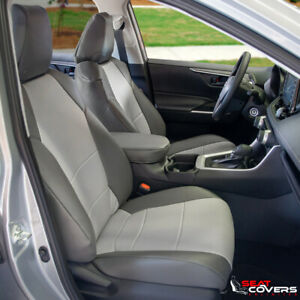 Custom Fit Leatherette Front Seat Covers For The 2014 2021 Toyota Tundra
