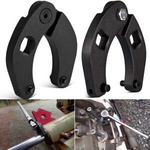 2pc Adjustable Gland Nut Wrench 1266 7463 Small Big Tool For Hydraulic Cylinder