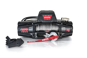 Warn 103251 Vr Evo Series Winch 8 000lb With Synthetic Rope Jeep 4x4 Off road
