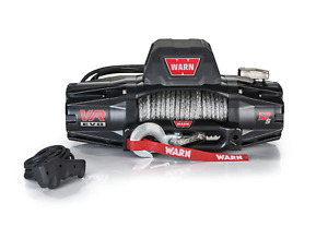 Warn 103255 Vr Evo Series Winch 12 000lb With Synthetic Rope Jeep 4x4 Off road