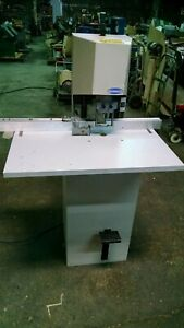Challenge Model Jf Single Spindle Paper Drill 1 4 Hp 115v Single Phase