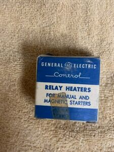 General Electric Relay Heaters For Manual And Magnetic Starters F149c 81d599