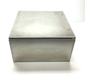 New Hoffman Csd242412ss Stainless Steel Wall mount Enclosure 24 x24 x12 Type 3r