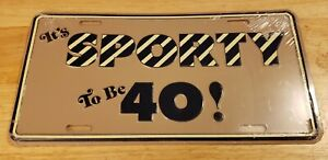 Vtg Funny Novelty Metal License Plate Ford Chevy Dodge Jeep Car Truck Vanity
