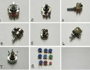 Vintage Potentiometers 8 Choices