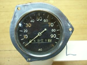 Vintage Ac Speedometer Model T A Ford Chevrolet Dodge Buick Car Truck L