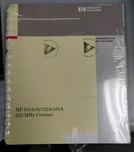Hp 53131a 132a 225mhz Universal Counter Programming Guide 53131 90044 new