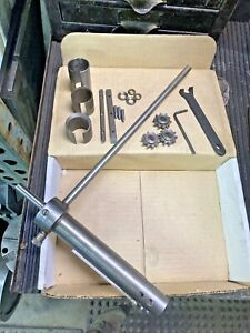 National Machine Tool 2 Keyseater Internal Rotary Broach Keyseat Key Way Cutter
