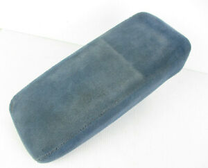 Ford Explorer Ranger Center Console Arm Rest Lid Cover Blue Fabric 91 01