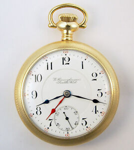 HAMILTON TIME BALL SPECIAL FOR RR SERVICE 17J 18S EXTREMELY RARE POCKET WATCH $3100.00