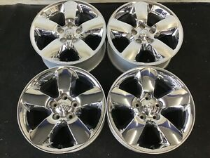 20 Dodge Ram 1500 Pick Up 2013 2019 Chrome Nice Wheels Factory Rims 2495 2450