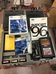 Otc Monitor 4000 Diagnostic System Scan Tool Case Manual 3 Cartridges