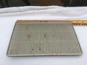 56 1956 Ford Victoria Car Top Dash Speaker Like Grill Used Part See 12 Pics