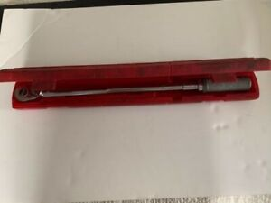Snap On Tools Torque Wrench Qjr 3200b 1 2 Drive 200 Foot Pounds With Case