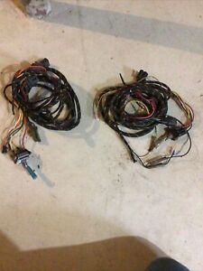 2 Sets Snow Plow Toggle Switches Wiring Harness For Headlights Parts Or Repair