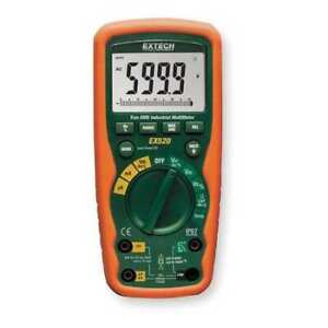 Extech Ex520 nist Industrial Digital Multimeter 1000v 20a
