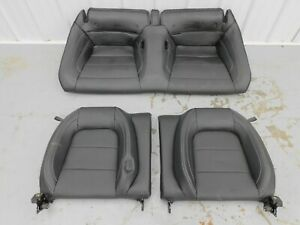 2015 2019 Ford Mustang Gt Rear Seat Upper And Lower leather Oem