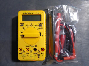 Ideal Sperry 61 609 Digital Multimeter