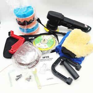 Spta Truck Buffer Polisher 780w Dual Action Random Orbital Car Detailing Kit