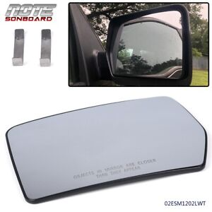 Left Hand Driver Side Mirror Glass For 04 10 Ford F150 Pickup Truck Replacement