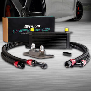 16 Row Racing Engine An10 Oil Cooler Kit For 06 12 Bmw Mini Cooper S Turbo R56