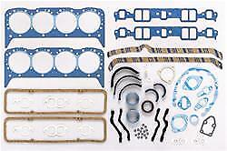 Sbc 265 283 327 350 377 383 Chevy Felpro 260 1000 Full Gasket Set