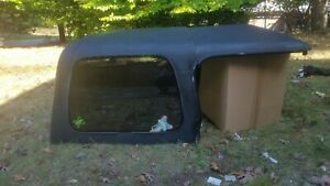 1997 2006 Jeep Wrangler Black Hard Top With Modified Removable Front Portion