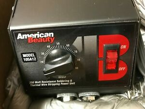 American Beauty Resistance Soldering Power Unit Model105a12 New In Box