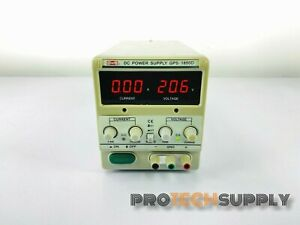 Mastech Gps 1850d Regulated Variable Dc Power Supply With Warranty