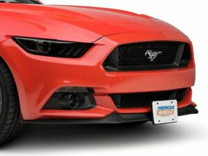 Speedform Manual Flip Down License Plate Holder Fits All Ford Mustang 2015 2020