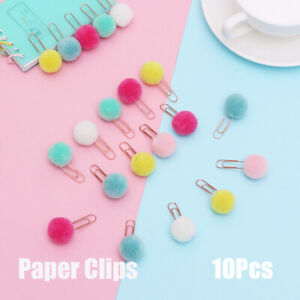 Durable Cute Office School Supplies Paper Clips Sealing Clips Document Clips