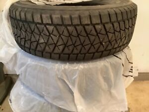 Bridgestone Blizzak Car Tires 245 65 R17 3000 Miles Like New