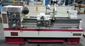 17 26 X 60 Acer Gap Bed Lathe No 1760g Gap 50 1800 Rpm Inch mm S r 30