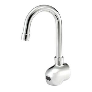 Krowne 16 190 Royal Series Electronic Wall Mount Faucet With 3 Gooseneck Spout