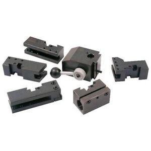 Hhip 3900 5425 Kdk Style 100 Quick Change Tool Post Holder Set 6piece