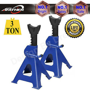 1 Pair Racing Jack Stands 3 Ton Heavy Duty For Car Truck Auto Lift High Quality