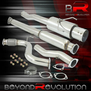 For 1994 1997 Accord 2 2l Performance 3 Catback Exhaust System 4 5 Muffler Tip