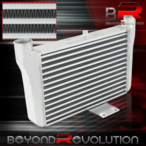 Universal 21 25 x11 x2 75 Front Mount Aluminum Turbocharged Cooling Intercooler